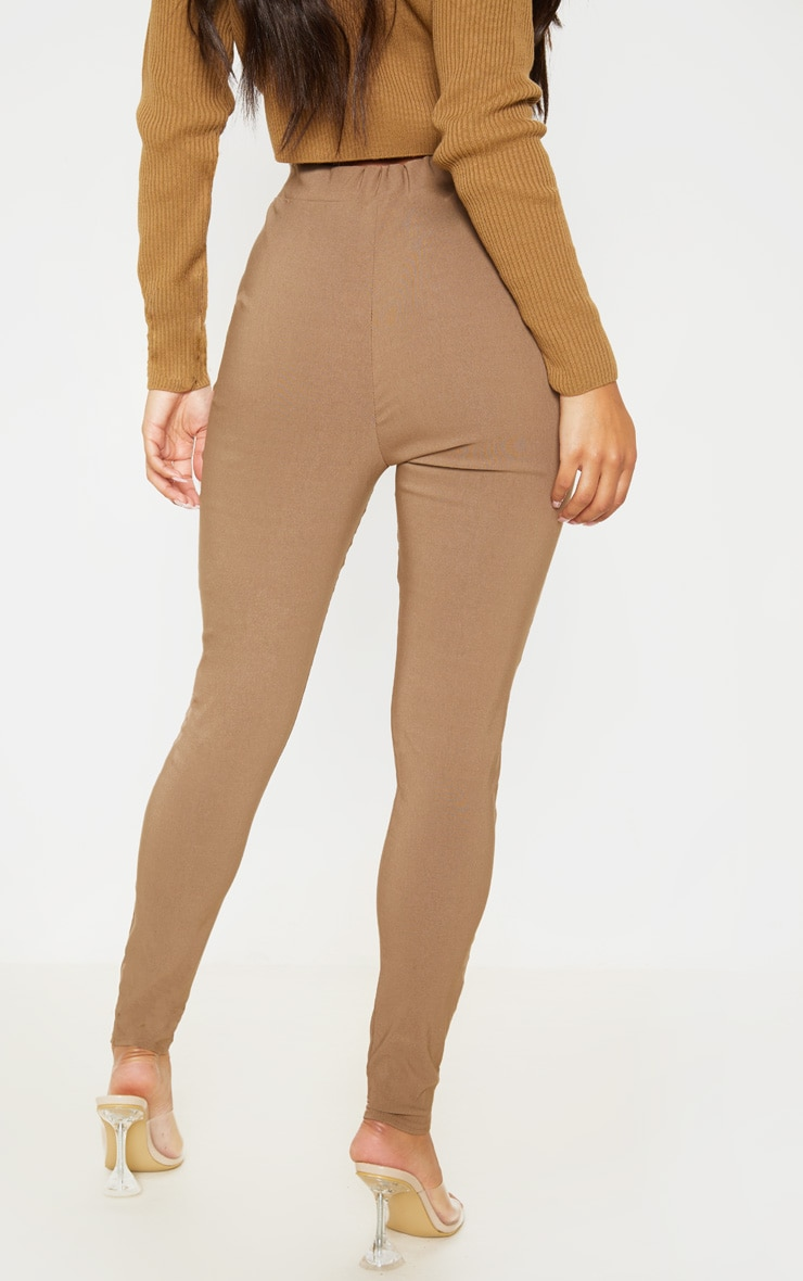 Camel Skinny Trousers 4