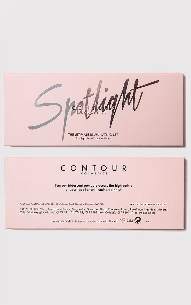 Contour Cosmetics Spotlight Highlighter Palette 4