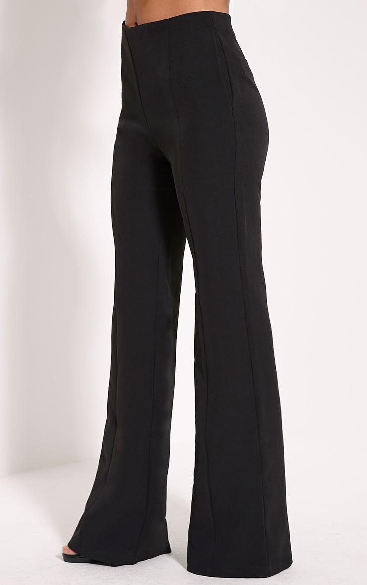 Emmaline Black Flared Trousers 3