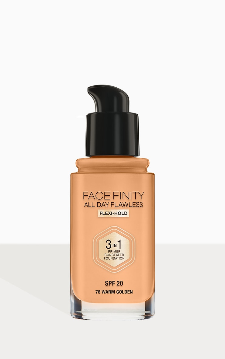 Max Factor Facefinity All Day Flawless Foundation Warm Golden 3