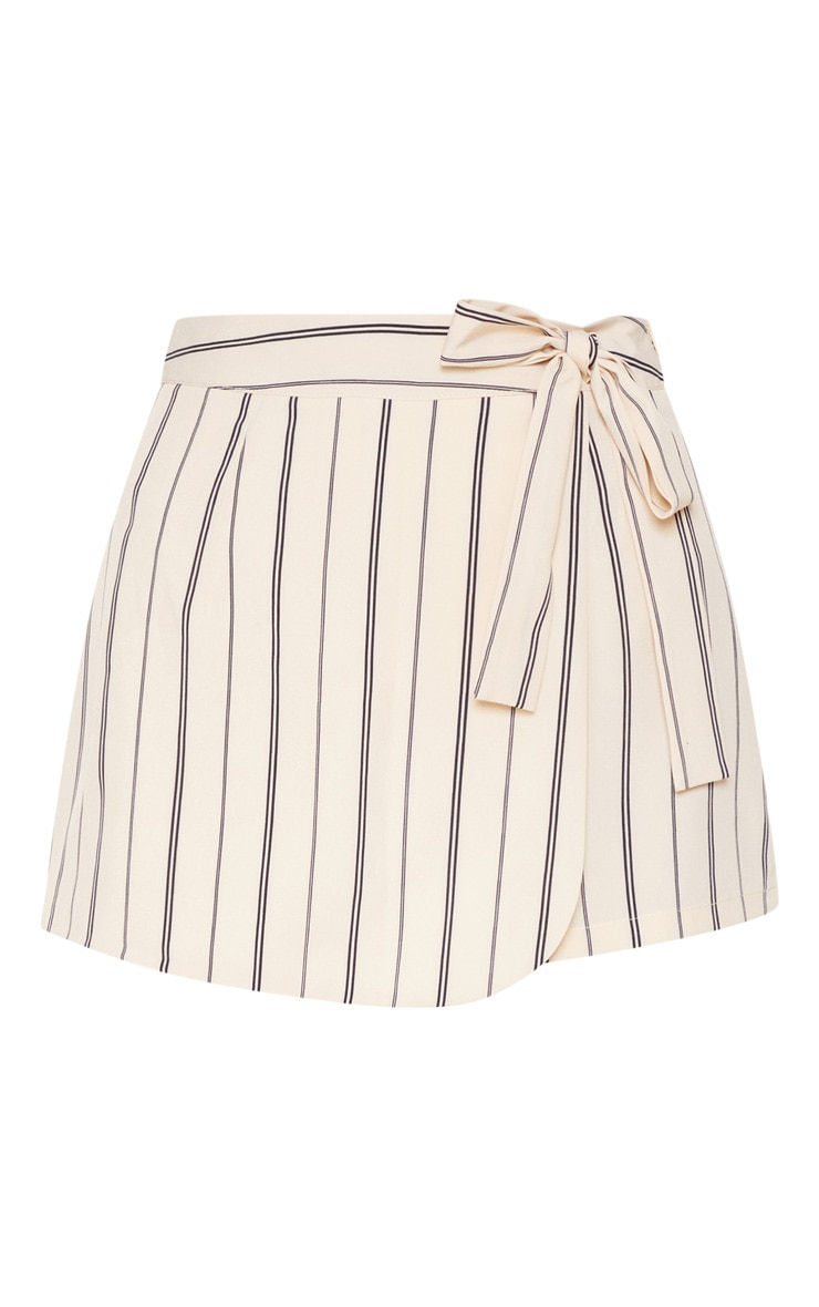 Stone Stripe Side Tie Skort 3