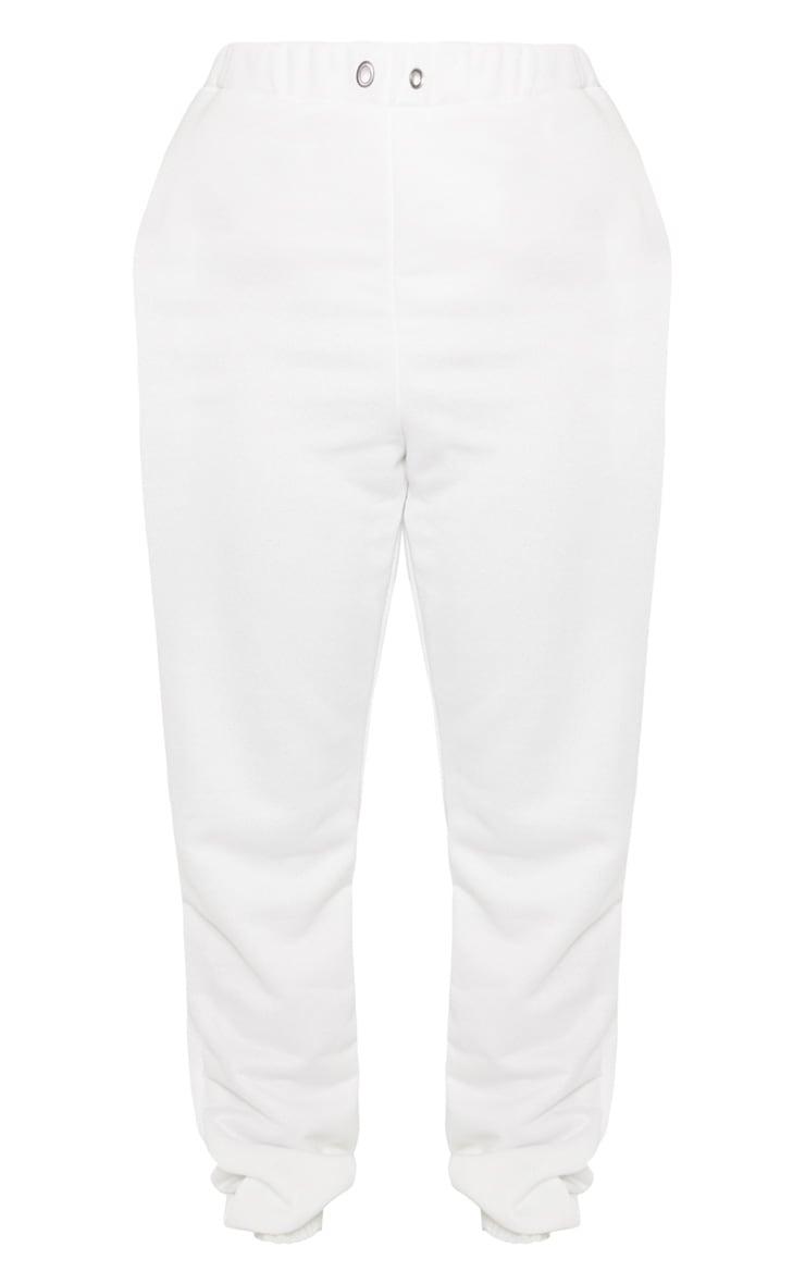 Shape Cream Skinny Drawstring Track Pants 3