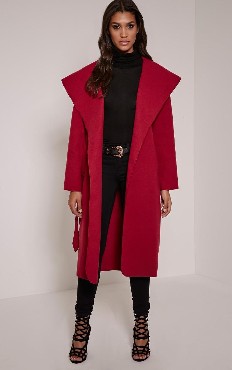 Veronica Berry Waterfall Coat 1
