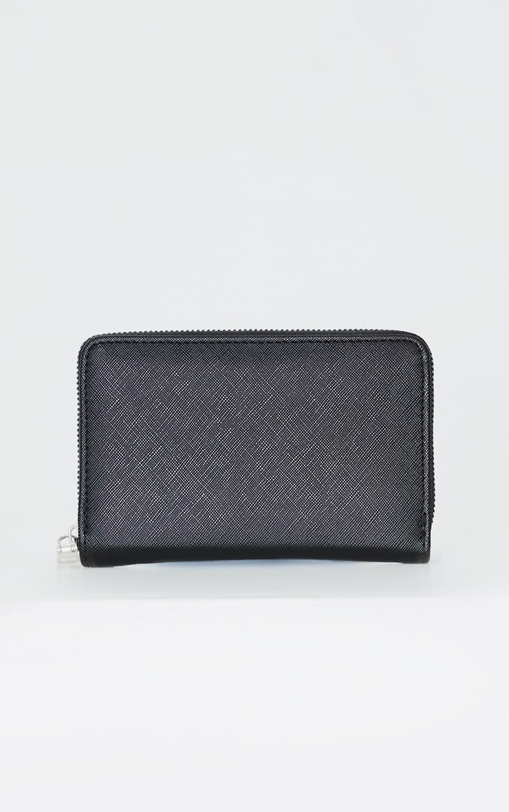 Plain Black Purse 1