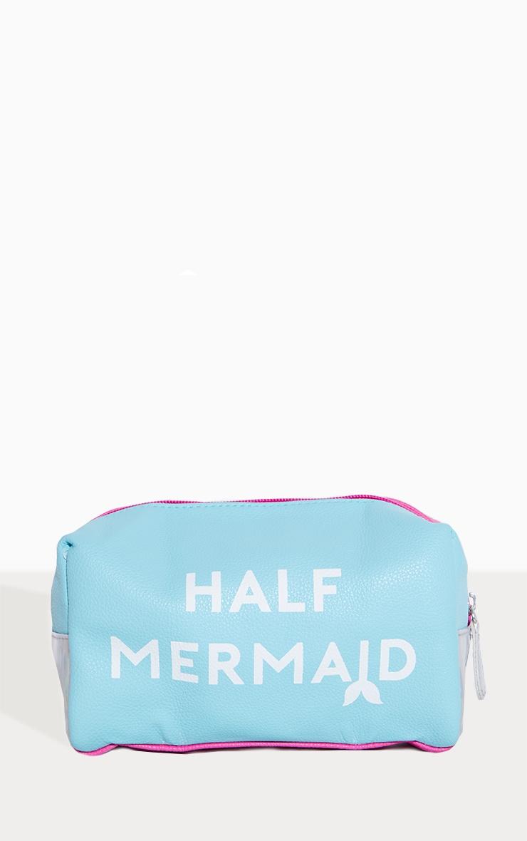 Spectrum Half Unicorn Half Mermaid Make Up Bag 2