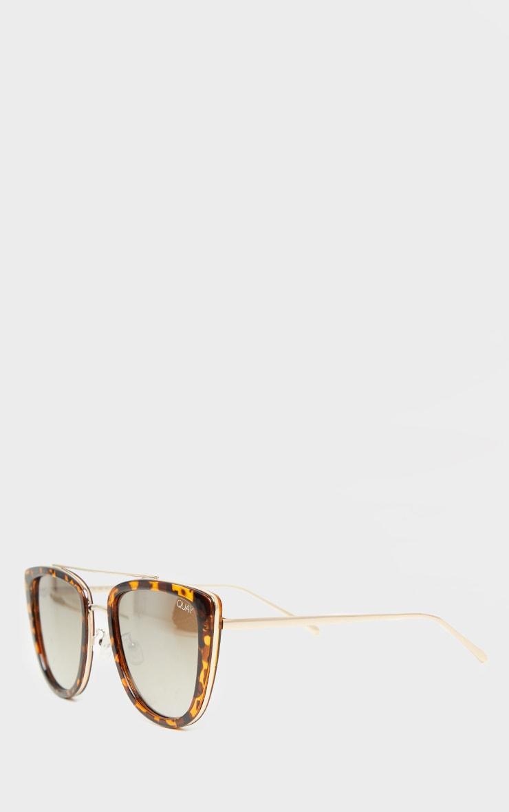 QUAY AUSTRALIA Tortoiseshell French Kiss Sunglasses 3