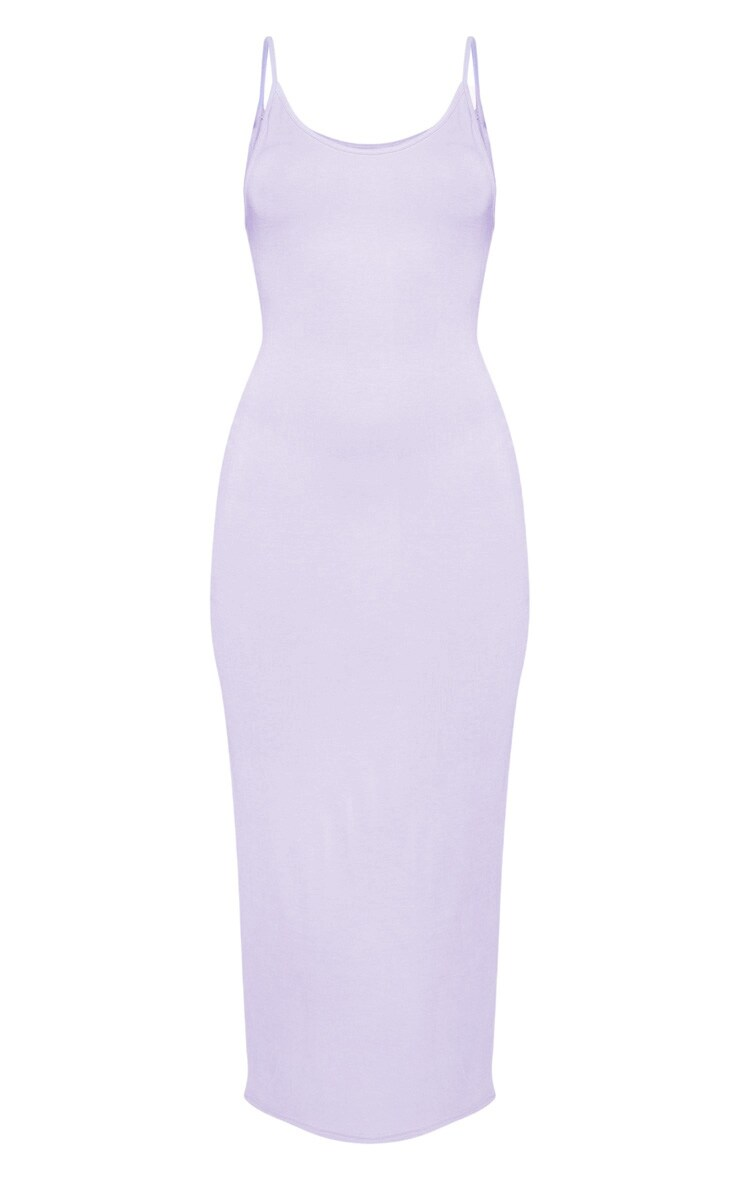 Lilac Drop Arm Hole Vest Maxi Dress 3