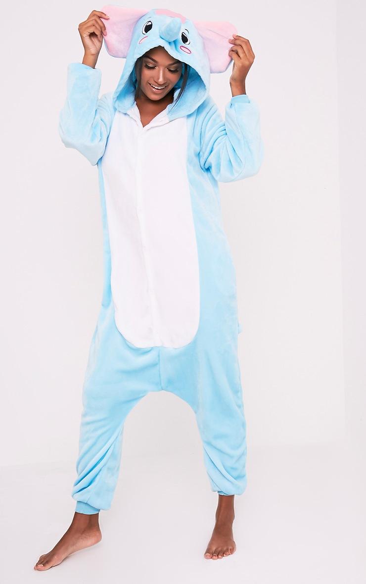 4fbc296b729b Elephant Onesie - Nightwear   Onesies - PrettylittleThing ...