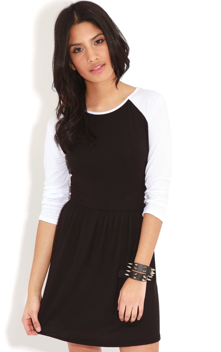 Cammy Monochrome Skater Dress 4