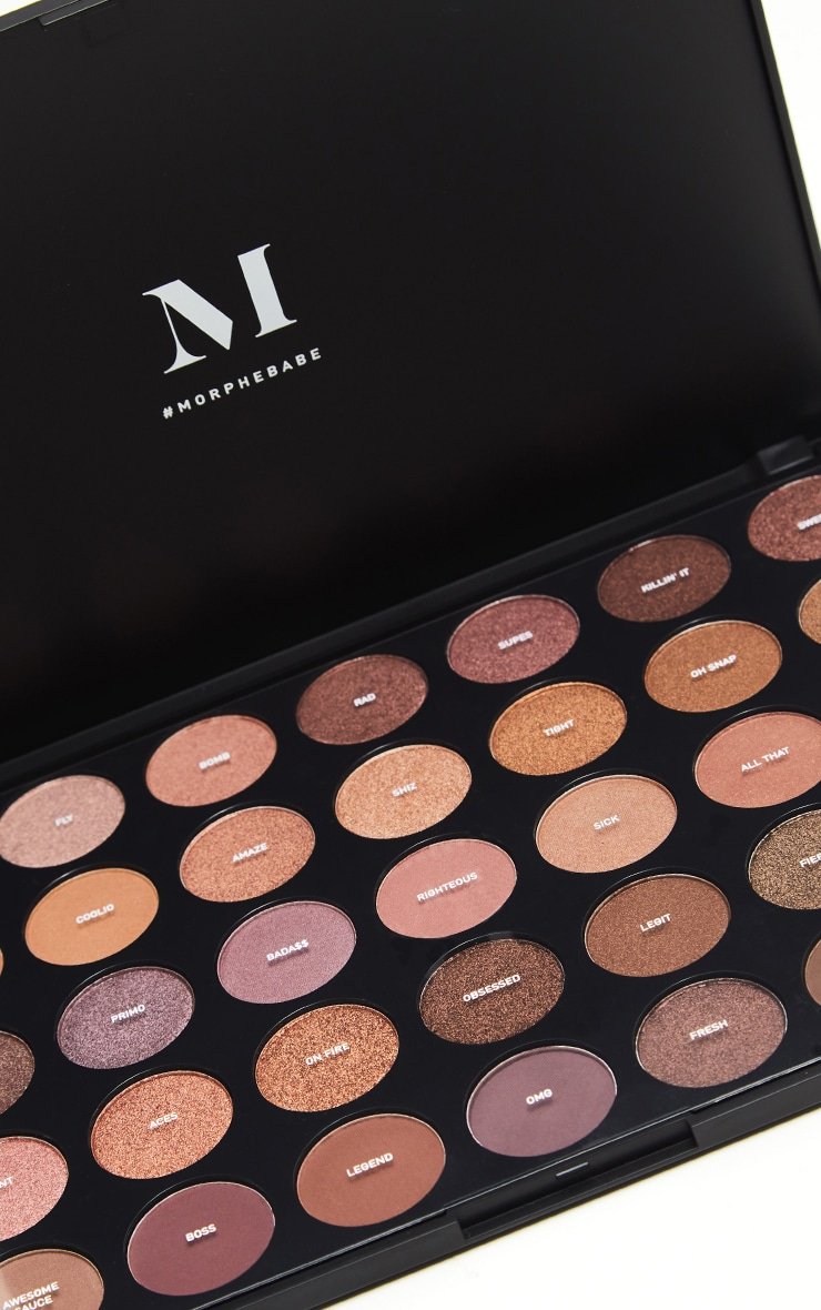 Morphe 35T Dope Taupe Eyeshadow Palette 2