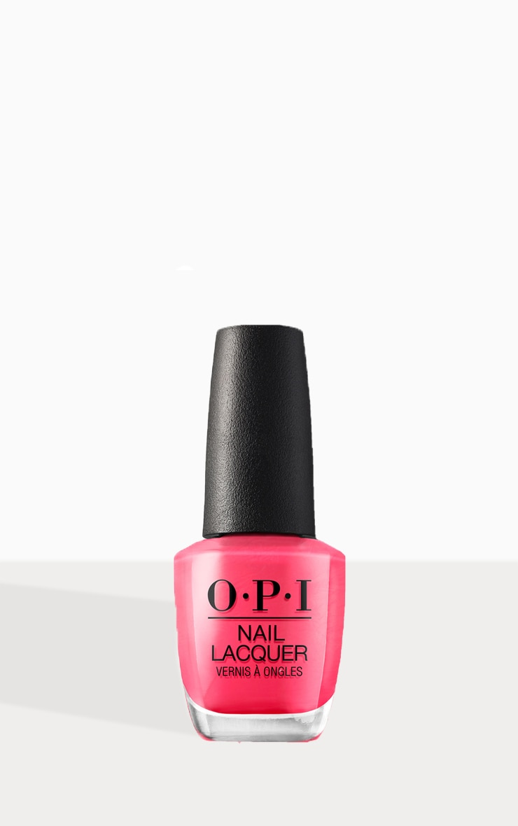 OPI Classic Nail Lacquer Strawberry Margarita 1