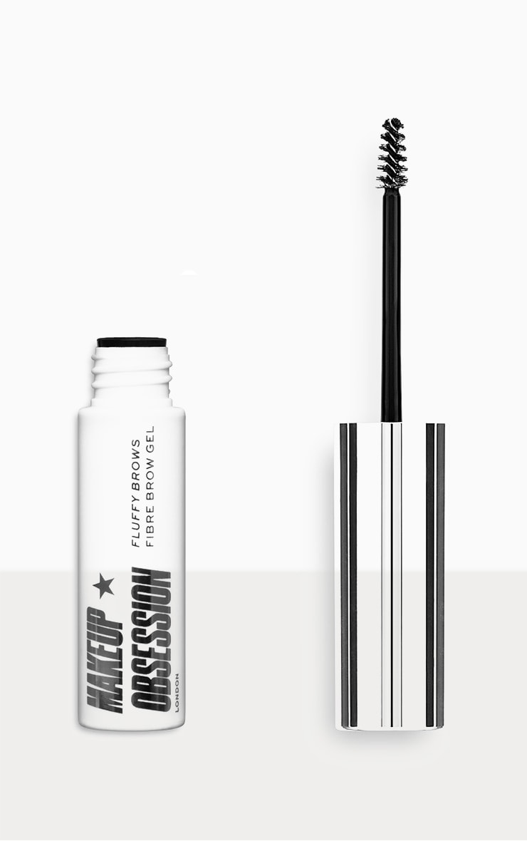 Makeup Obsession Fluffy Brow Fibre Brow Gel Warm Brown 1