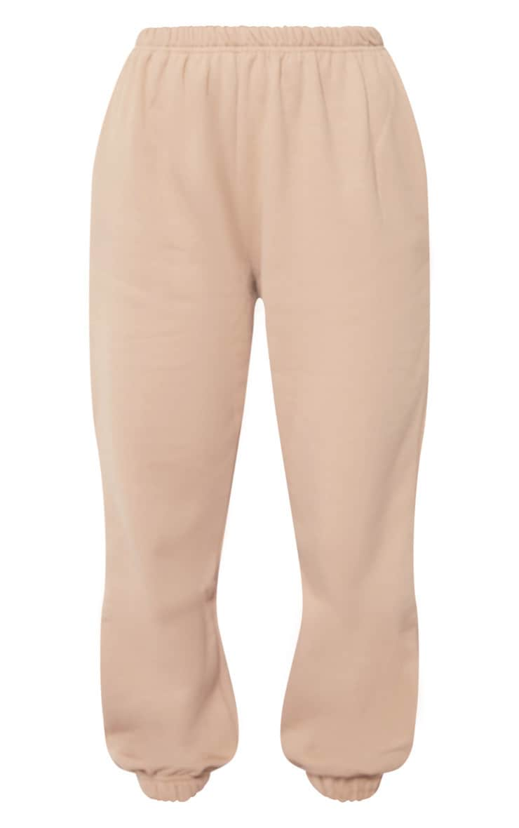 Taupe Casual Track Pants 4