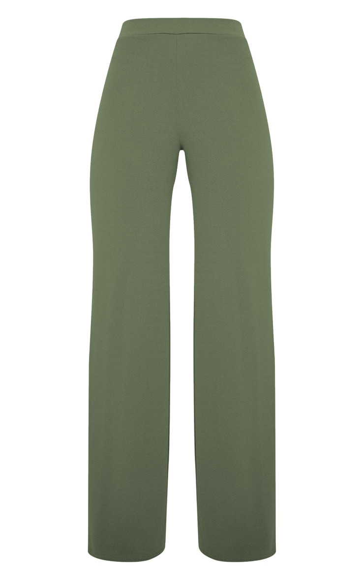 Sage Khaki Wide Leg Pants  3