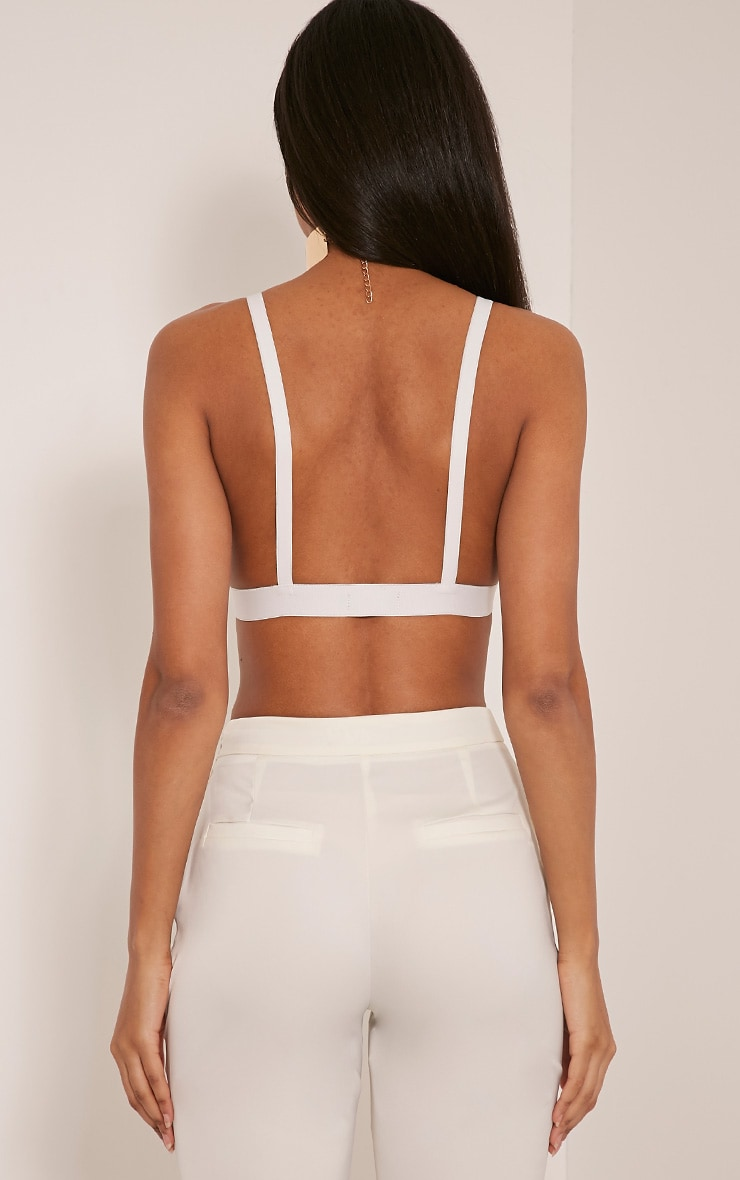 Jesika White Lace Bralet 2