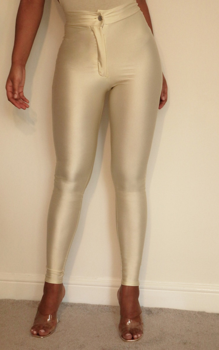 Cream Disco Pants 2
