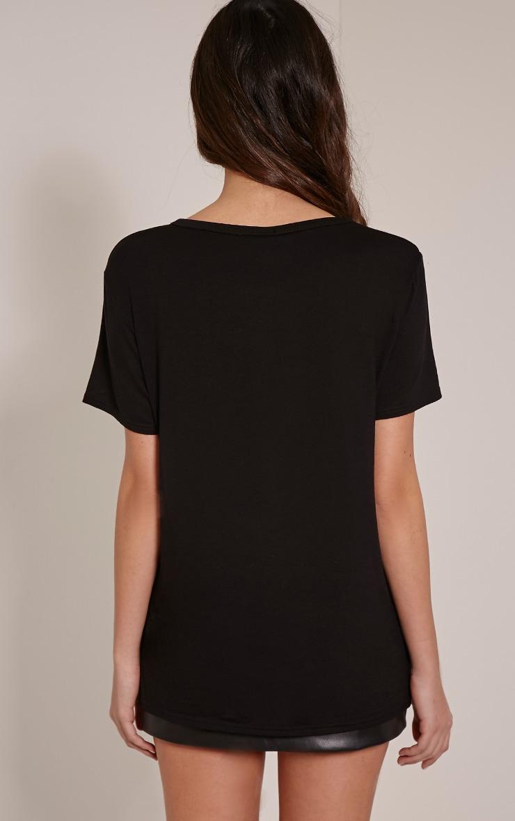 Paris Black Peace T-Shirt 4