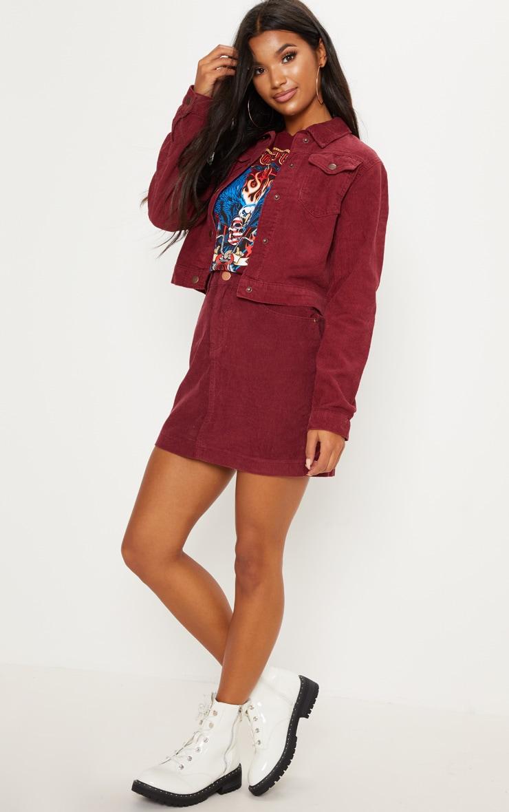 Berry Cord Skirt 5