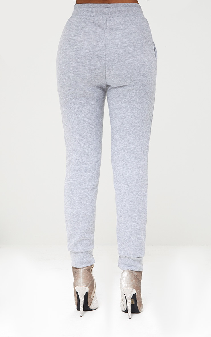 Bruna Grey Marl Sweat Joggers 4