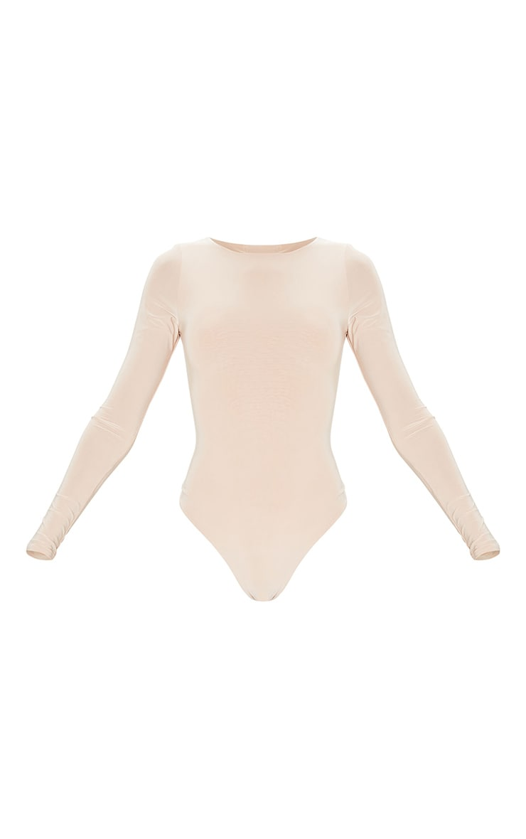 Amiee Slinky Stone Longsleeve Thong Bodysuit 5
