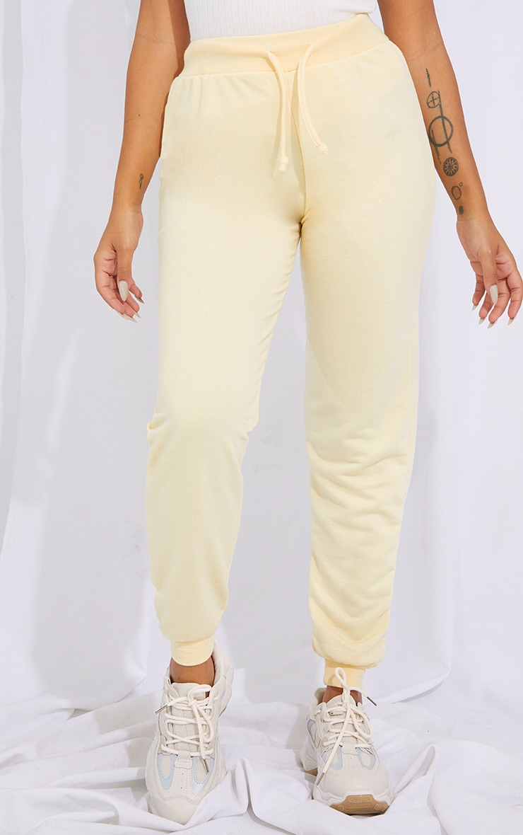 Petite Cream Ultimate Sweat Jogger 2