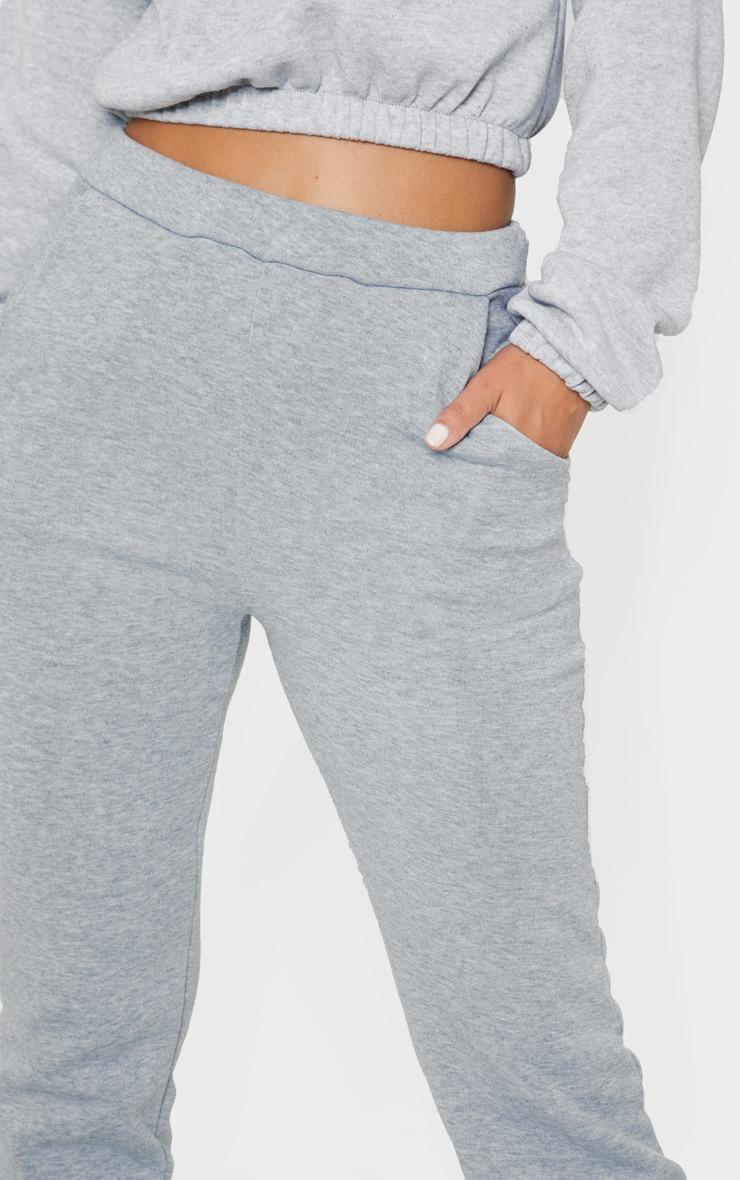 Petite Grey Oversized Sweat Jogger 5
