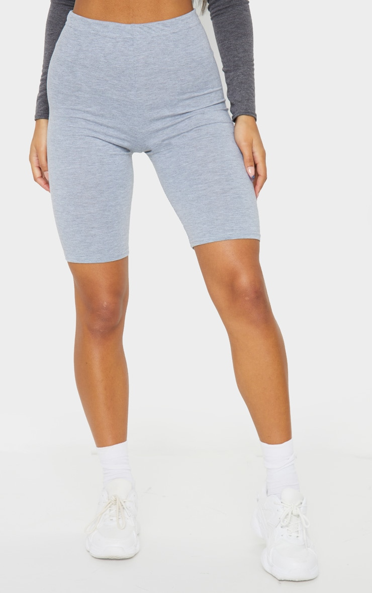 Essential Jersey Grey Cycle Shorts 2