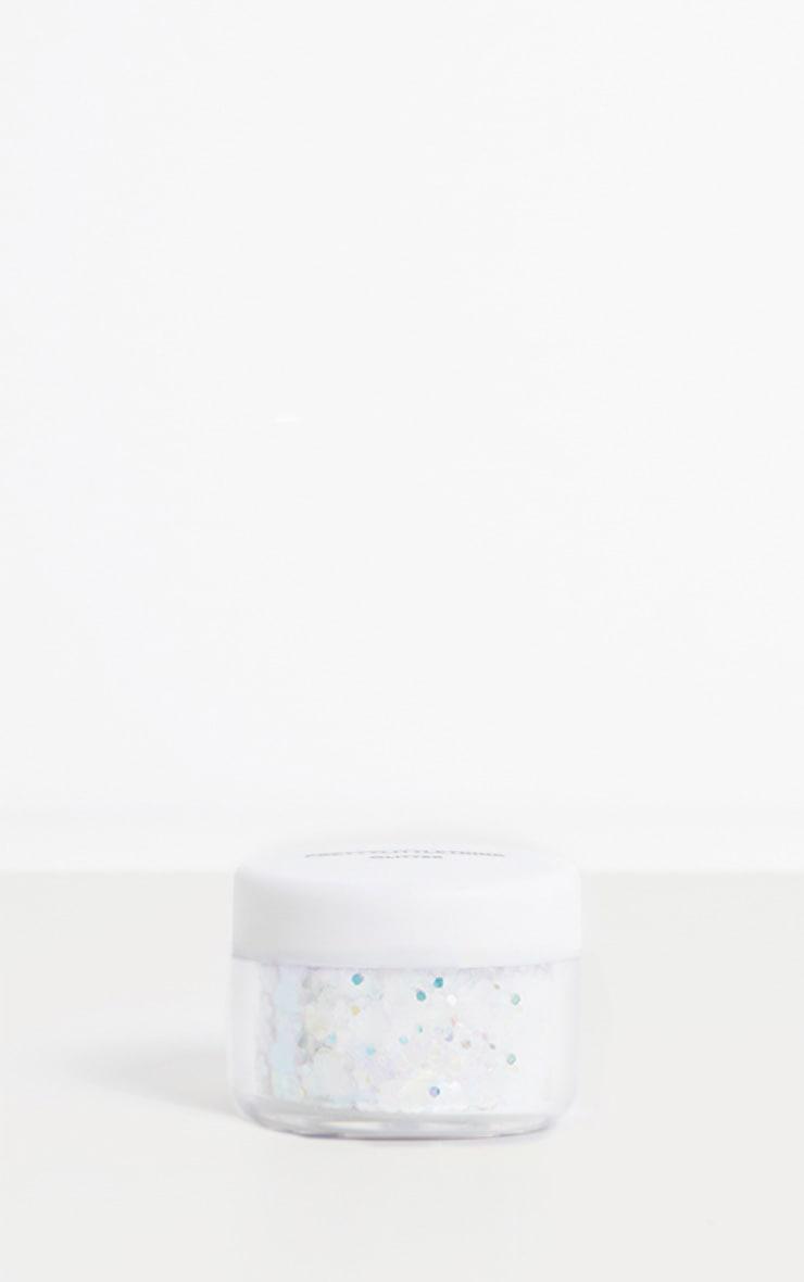PRETTYLITTLETHING Chunky Iridescent Glitter Pot 3