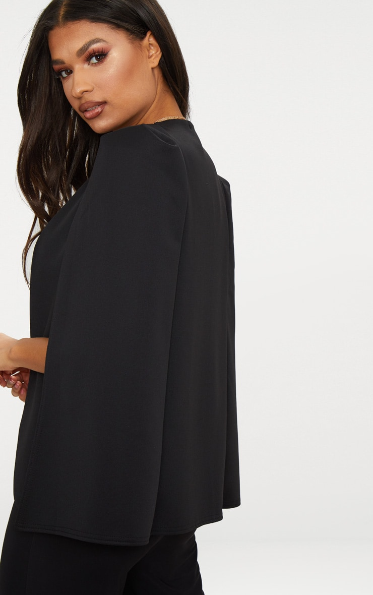 Black Cape Blazer 2