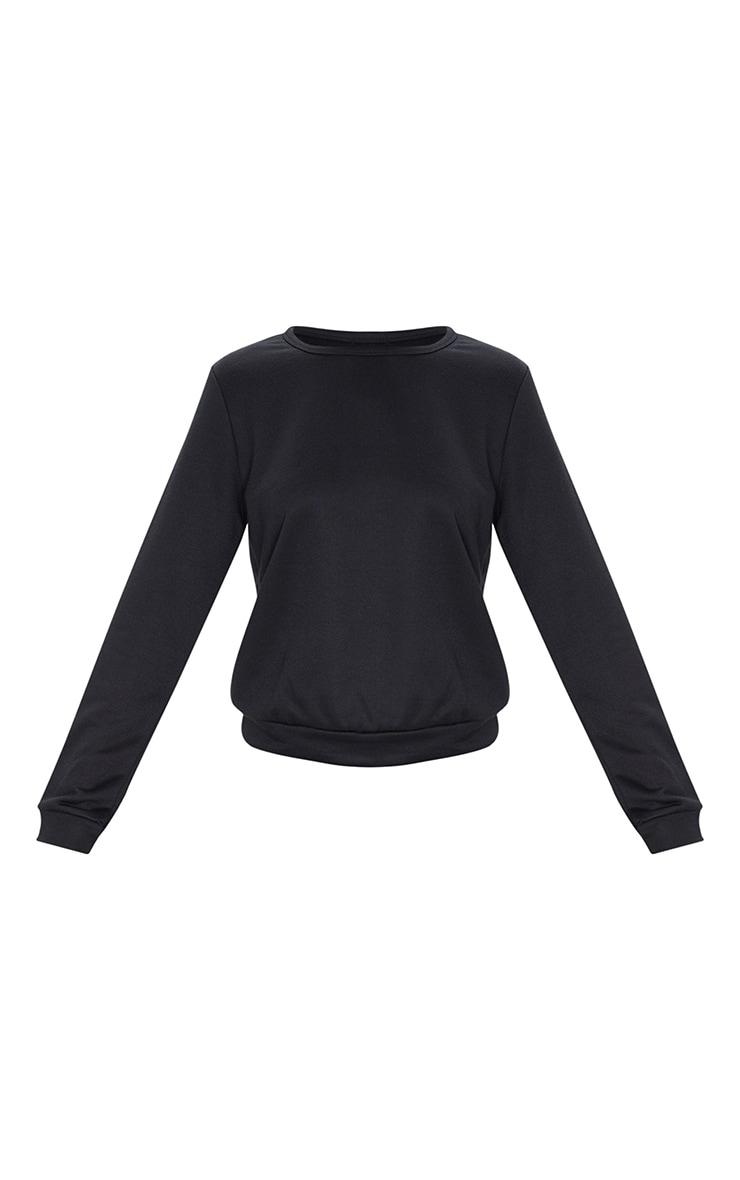 Basic Black Sweater 5
