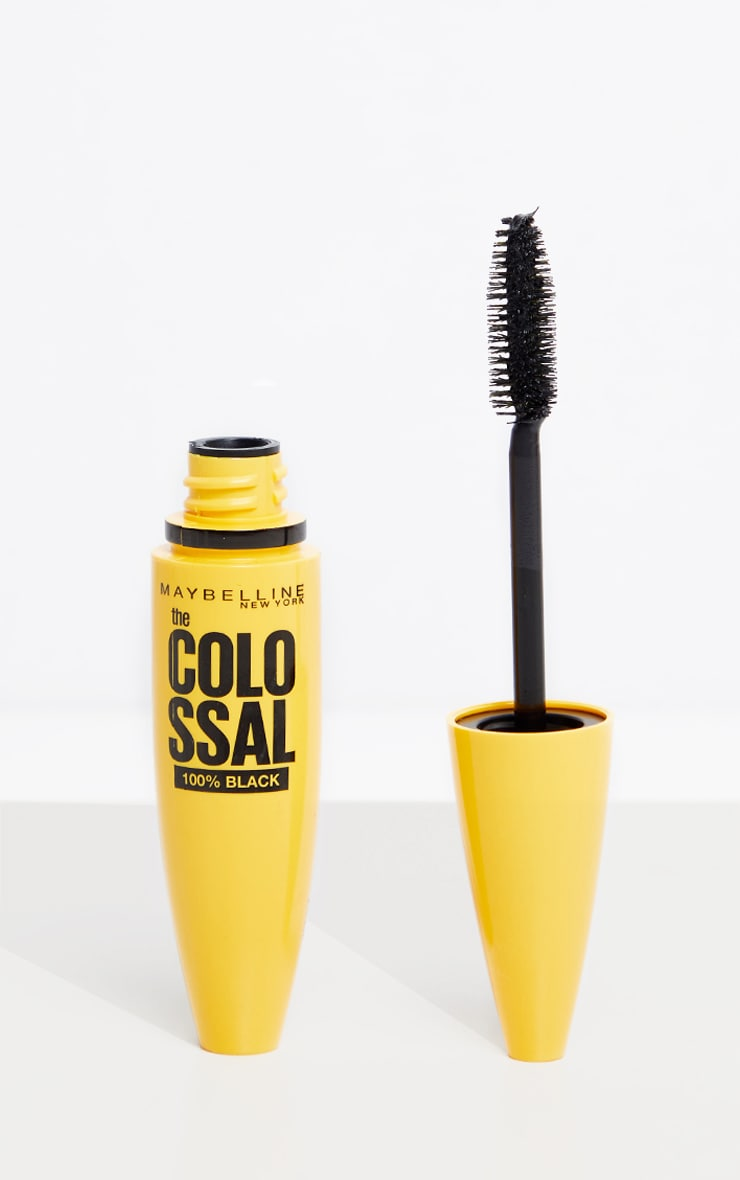 Maybelline - Mascara Colossal 100% - 01 Black 1