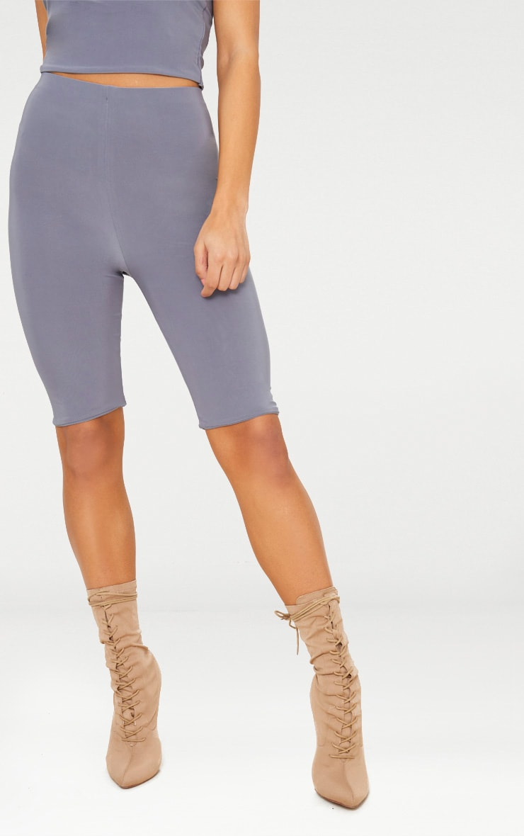 Short-legging slinky long gris 2