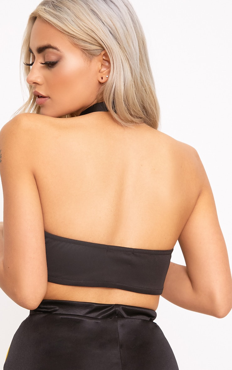 Black Wired Bandeau 2