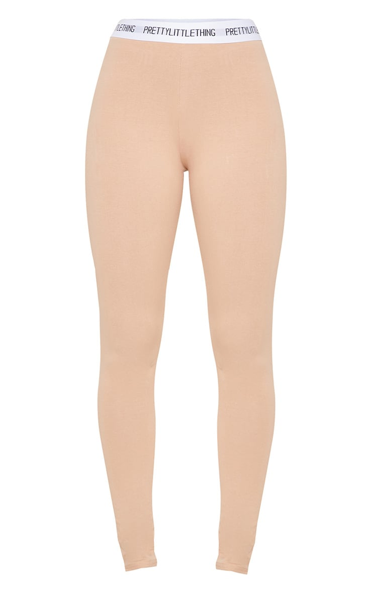 PRETTYLITTLETHING Nude Leggings 3