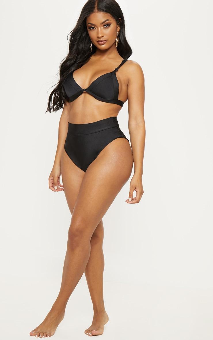 Shape Black Knot Front Bikini Top 4