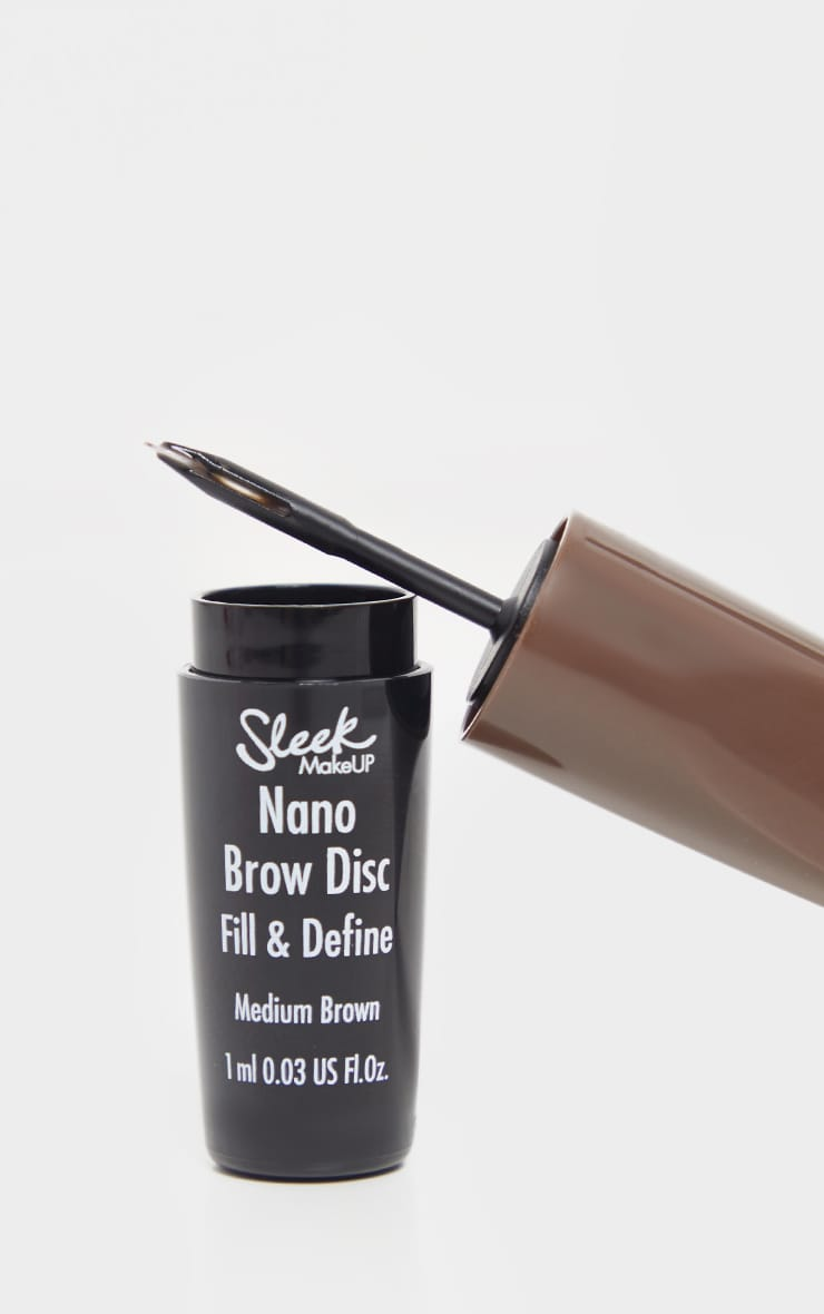 Sleek MakeUP Nano Brow Disc Medium Brown 2