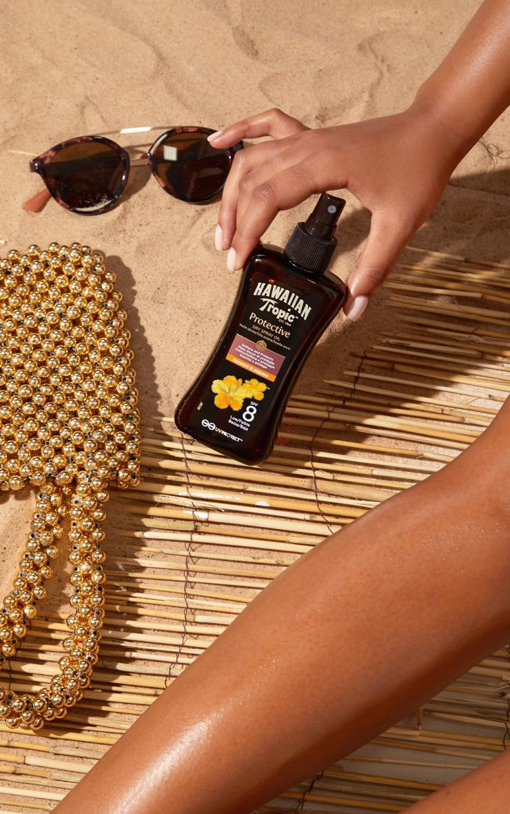 Hawaiian Tropic Protective Dry Oil SPF 8 1
