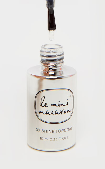 Le Mini Macaron Shine Top Coat Nail Polish