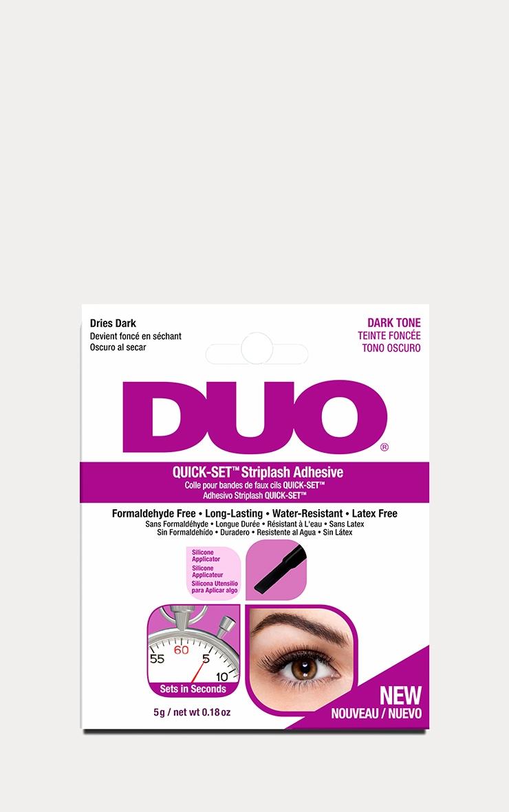 Duo Quick-Set Striplash Adhesive - Dark 1