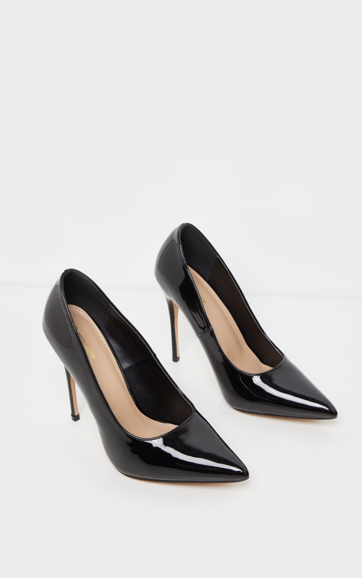 Black Court Shoes 3