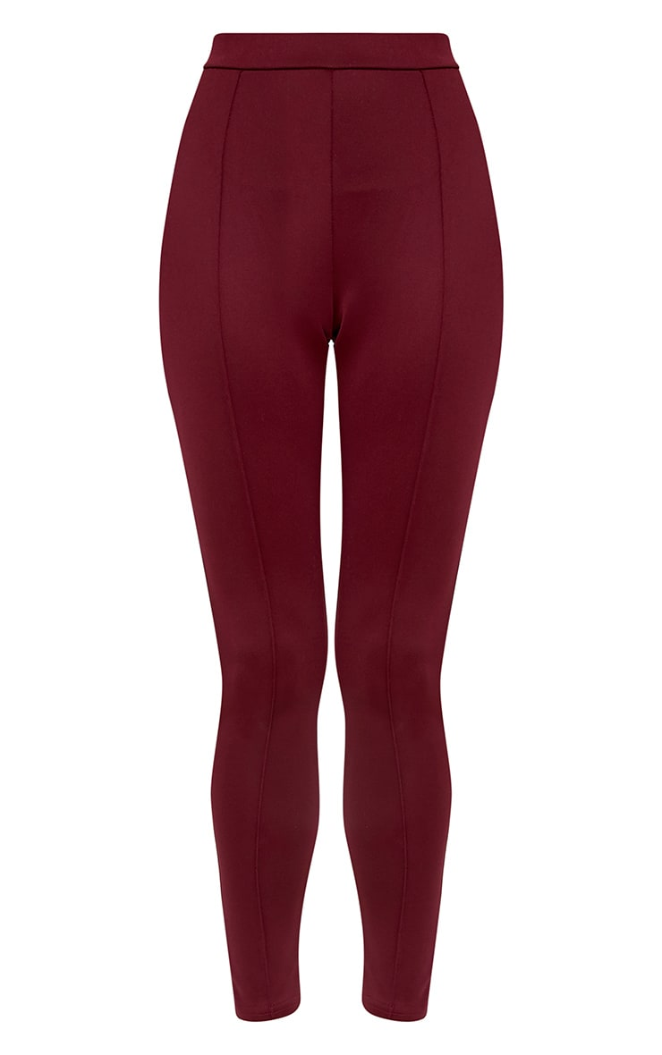 Larena Berry Front Seam Skinny Trousers 3