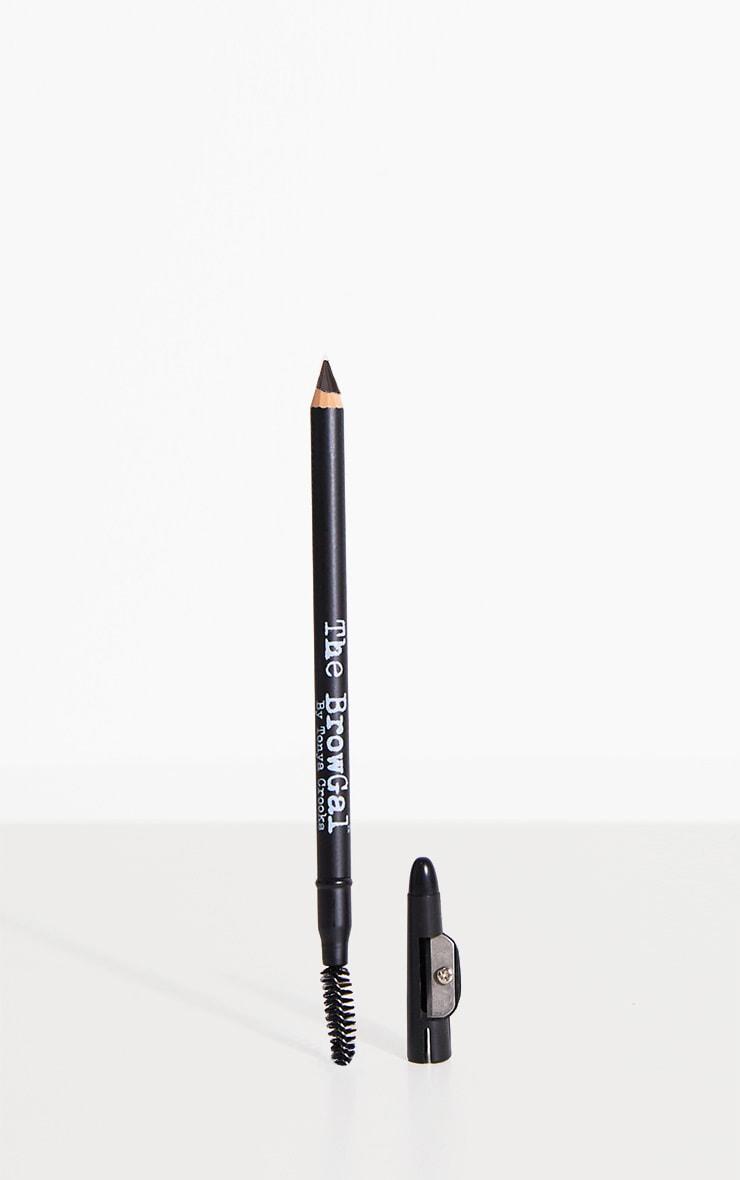 The Browgal Skinny Eyebrow Pencil 04 Medium Brown
