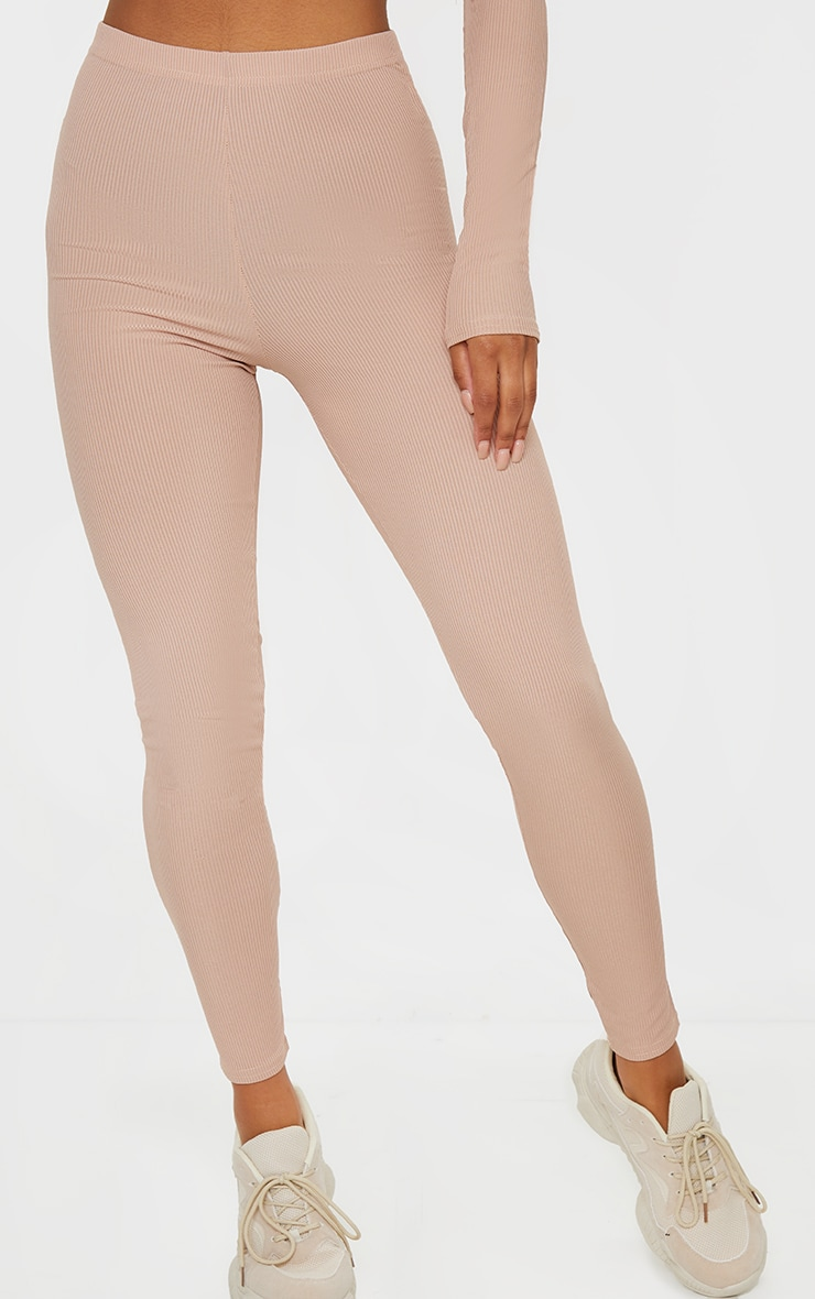 Stone Rib High Waist Leggings 2