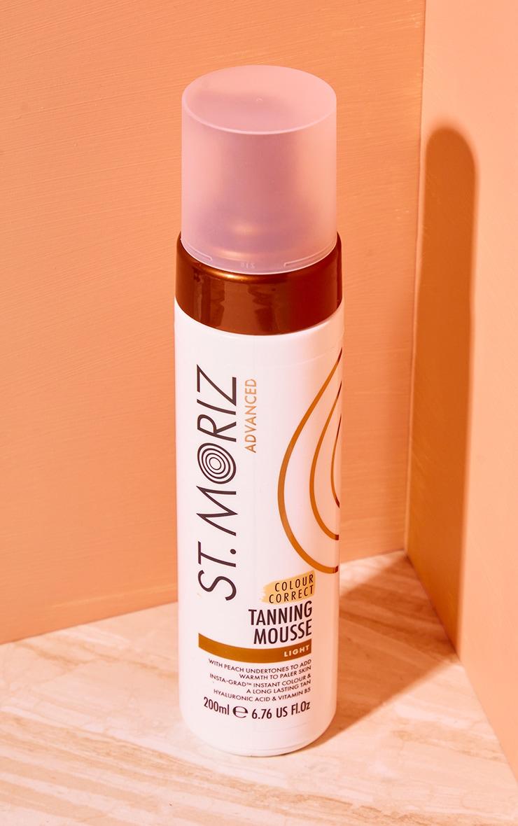 St Moriz Advanced Colour Correcting Tanning Mousse Dark 1