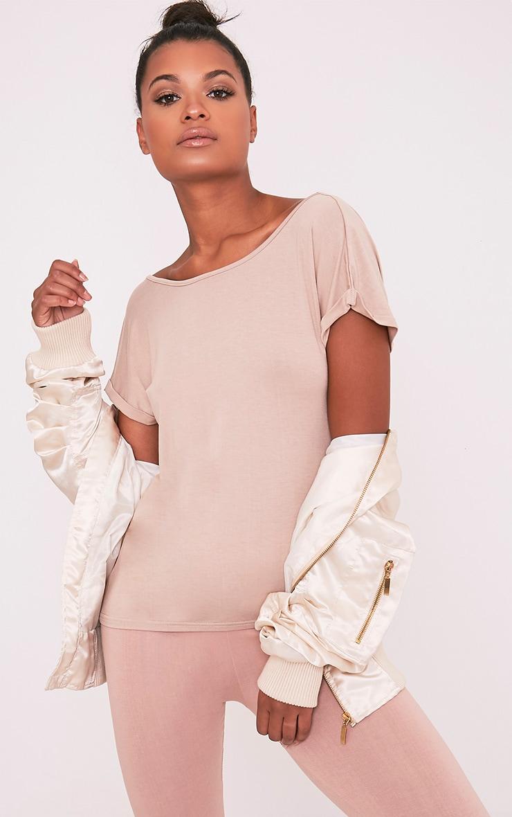 Bea Stone Multi Way Cowl Neck T Shirt 6
