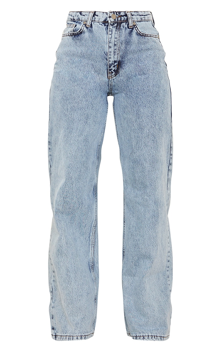 Vintage Wash Boyfriend Jeans 5