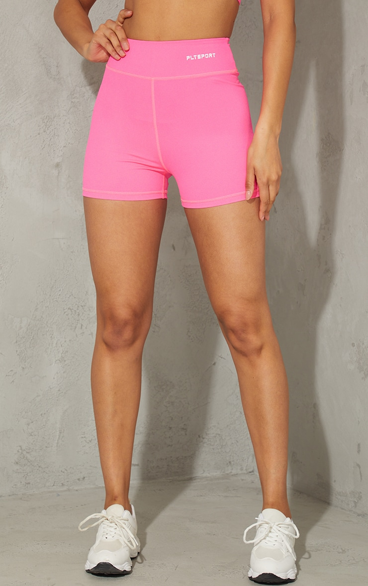 Hot Pink Sculpt Luxe Booty Shorts 2