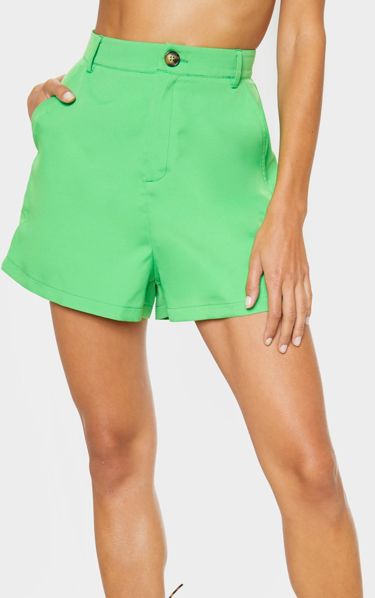 Neon Green Formal Suit Short  5