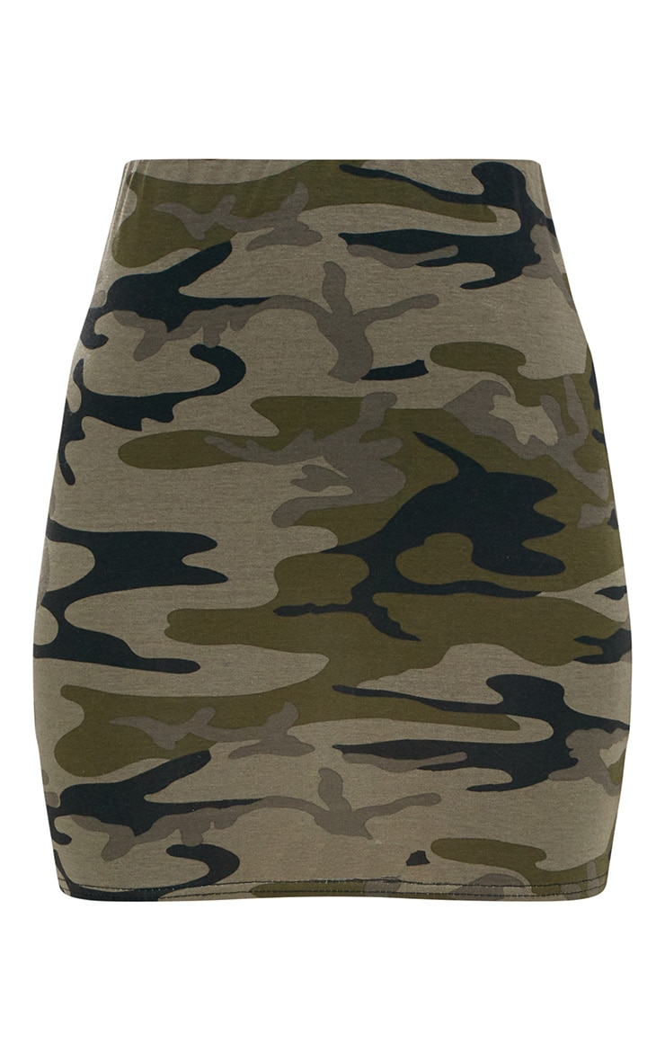 Khaki Camo Mini Skirt 3