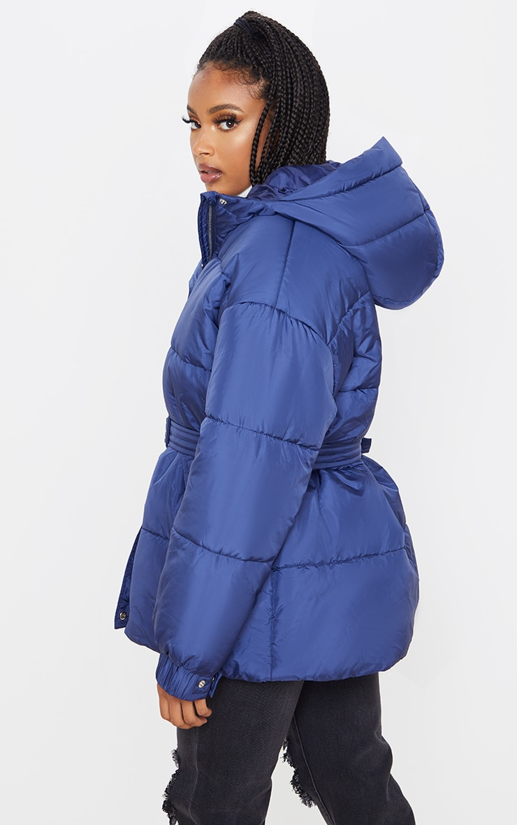 Navy Belted Puffer  2